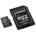 Kingston Флеш карта MicroSD 128GB Canvas Select  (SD adapter) Class 10